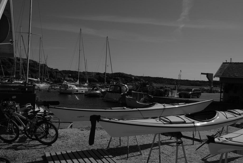 Boats in Marstrand, Sweden.