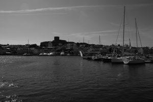 Boats in Hambursund, Sweden